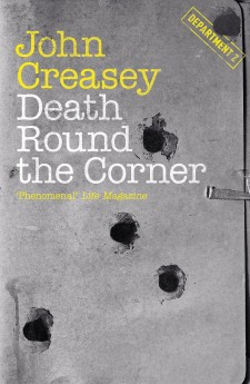 Death Round the Corner John Creasey Department Z