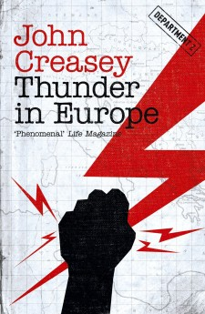 Thunder in Europe JOhn Creasey Department Z