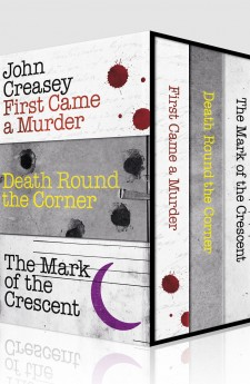 John Creasey box set of three books at a special price